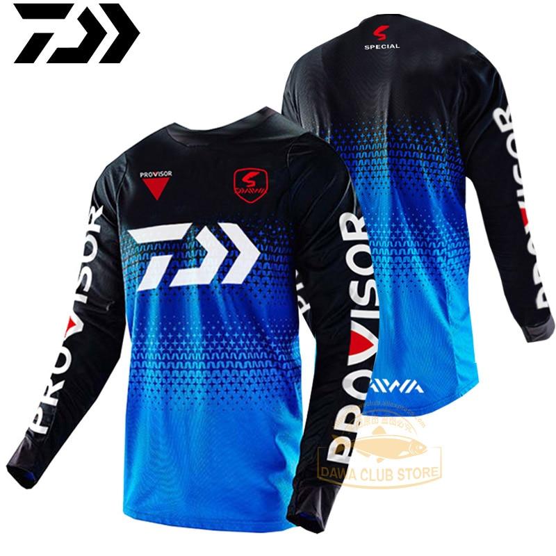 2019 Summer Autumn Long Sleeve Fishing Cycling Shirt Breathable Sportswear Fishing Jersey Sunscreen Quick Dry Fishing Clothing
