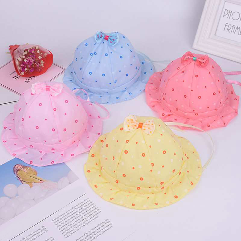 886892dd97b Costume For a Photo Shoot Of A Newborn Children s Beach Hat Lace Bucket  Hats Outdoor Bowknot Sun Caps-in Hats   Caps from Mother   Kids on  Aliexpress.com ...