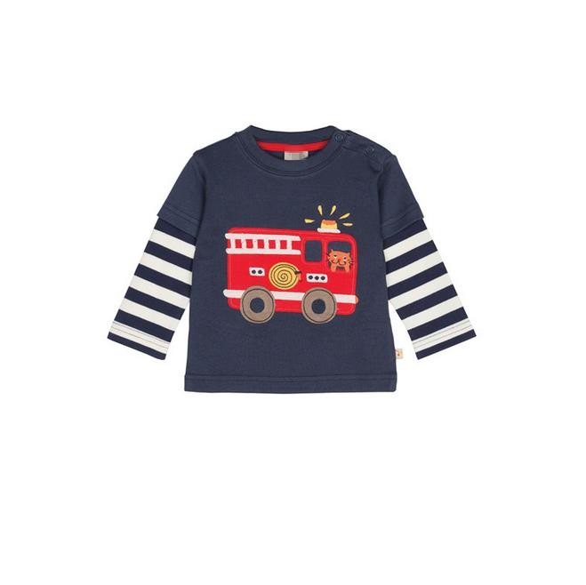 New 2017 Branded 100% Cotton Baby Boys t shirts Kids Clothing Clothes Children Long Sleeve t-shirts Boys Blouse fireman Boys high quality branded boys t shirts children clothing baby t shirt kids clothes long sleeve striped cotton baby boy t shirt