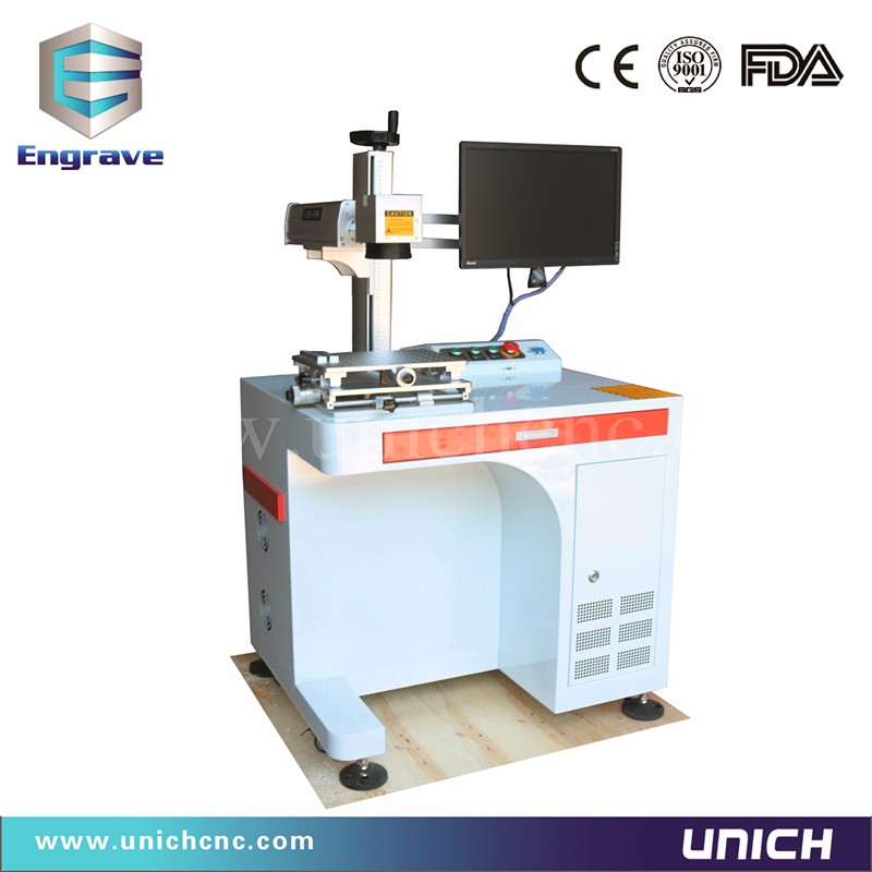 Mobile phone cell fiber laser marking machine 110*110mm working areaMobile phone cell fiber laser marking machine 110*110mm working area