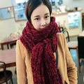 Hot Thickness Lovers Warm Scarves Winter Warm Woolen Knit designer Womens Scarfs Fashionable Christmas Gift Couple Scarf