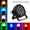 4PCS LOT New 2014 18 3W Led Stage Light High Power RGB Par Light With DMX512