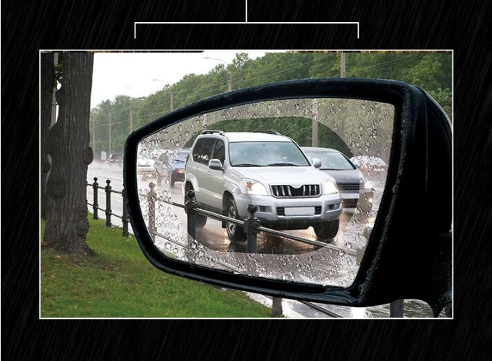 <font><b>2018</b></font> Car Rainproof Car Rearview Mirror Film Sticker FOR <font><b>Suzuki</b></font> <font><b>Swift</b></font> Grand Vitara Sx4 Jimny 2016 Volvo S60 XC90 V70 <font><b>accessories</b></font> image