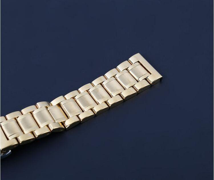 14 мм 16 мм 18 мм 20 мм 22 мм 24 мм нержавеющая сталь часы браслет браслет реванш реванш baba черный, Celebrity цвет роза золото