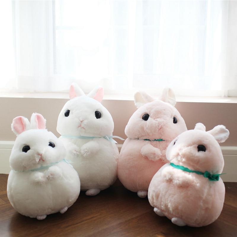 1PC 35/45CM Kawaii Plush Stuffed Animal Cartoon Kids Toys For Girls Children Baby Birthday Christmas Gift Rabbit Doll