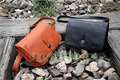 New Men's Fashion PU  Leather Shoulder Messenger Cross body Clutch Bag Pouch