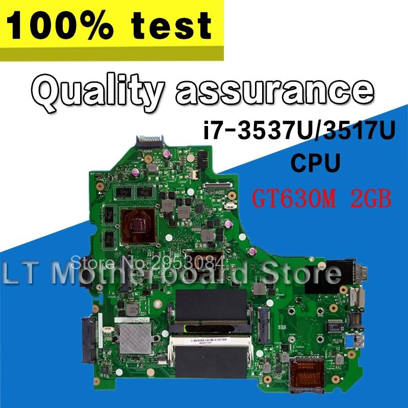 K56CM Motherboard GT630M 2GB i7 cpu For ASUS K56C A56C S56C S550C Laptop motherboard K56CM Mainboard K56CM Motherboard test OK motherboard for asus k56cm s56c s550cm a56c laptop motherboard k56cm mainboard 987 cpu rev 2 0 integrated in stock