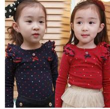 Girls Sweatshirt Tops Long Sleeves red Sweatshirts Autumn Brand Children Clothes Cotton Marvel Baby Casual Baby Kids Clothes
