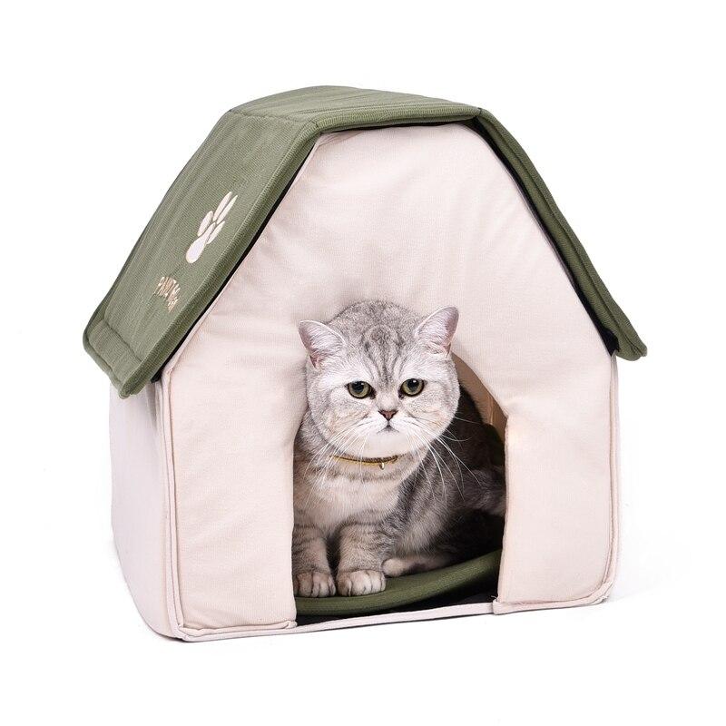 Drop shipping Dobrável Casa Caverna do Gatinho do Gato Do Gato de Estimação Cama Casa de Cachorro Gato Cama de Para Cachorro Macio Cães Casa Forma verde vermelho