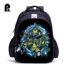 2018 Children School Bags Teenage Mutant Ninja Turtles Orthopedic Backpack Kids School Boys Mochila Infantil Catoon Bags Gift цена