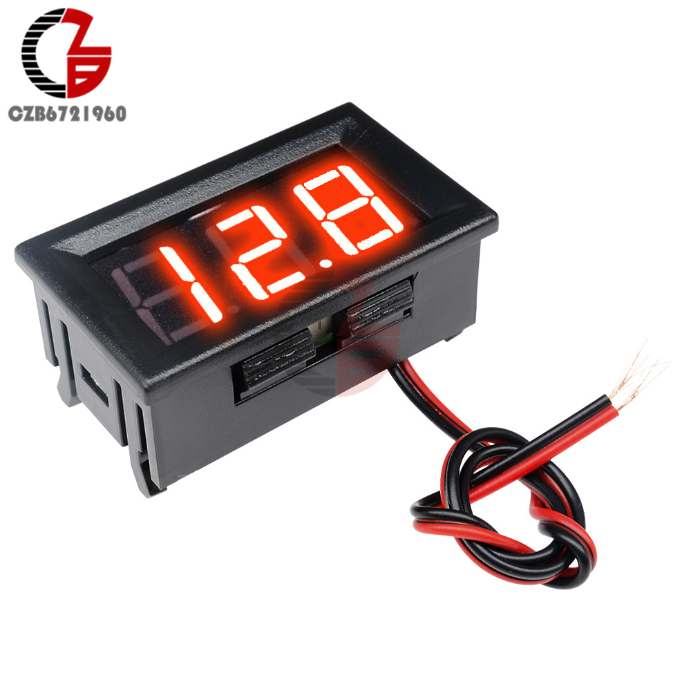 High Accuracy DC 100V 10A Digital Car Voltmeter Ammeter Motorcycle Voltage Indicator Tester Current Meter Replace High Accuracy DC 100V 10A Digital Car Voltmeter Ammeter Motorcycle Voltage Indicator Tester Current Meter Replace USB Tester 12V
