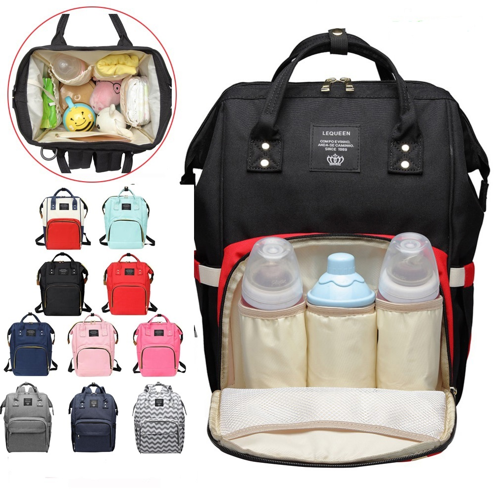2019 new Women Mummy Maternity Travel Backpacks Big Capacity Baby Nursing Handbags Backpack Designer Nursing Bag Baby Care tote bags for work