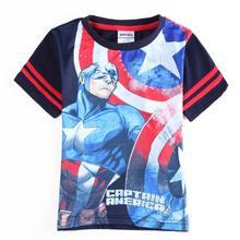 Camiseta niños Capitán América