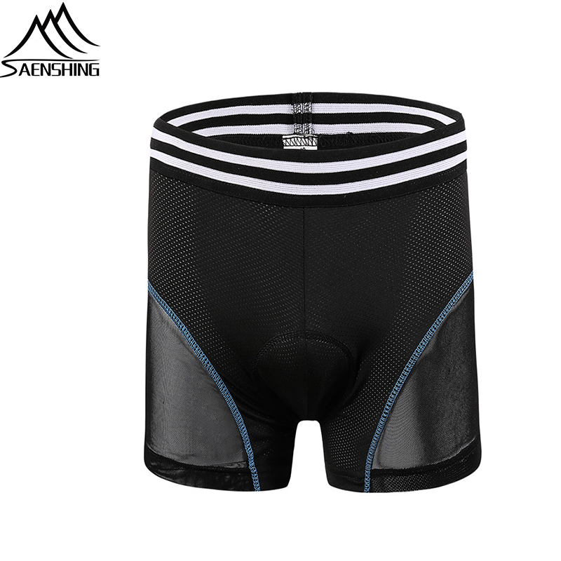 SAENSHING 5D Gel Padded Cycling Underwear Downhill Mtb Shorts Men Mountain Bicycle Cycling Shorts Male Compression Tights ShortsSAENSHING 5D Gel Padded Cycling Underwear Downhill Mtb Shorts Men Mountain Bicycle Cycling Shorts Male Compression Tights Shorts
