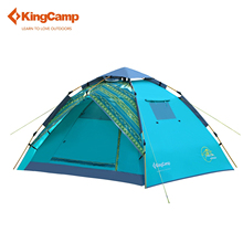 KingCamp Tent Portable Travelling Double-layer Camping Tent 3-Person 2-Season Easy-up Outdoor Dome Tents for Hiking Trekking