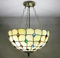 light peacock glass pendant lights dinner lamp pendant light anti retro kitchen lamp bedroom lamp aisle porch DF77