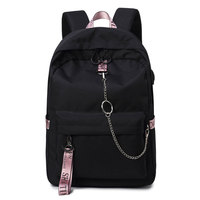 Fashion Waterproof Fabric Casual Adult Daily Backpack College Girls School Backpack Boys Laptop Dayback Lovers Travel Knapsack