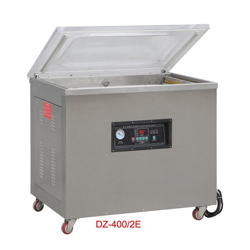 Scellant sous vide de bureau DZ-500/2E, machine d'emballage sous vide alimentaire machine de cachetage de sac d'emballage sous vide de bureau 110 v/220 v