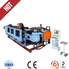 full hydraulic tube bending machine with pre-bending