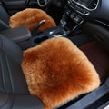 100% Pure fur sheepskin car seat covers 1pcs for fornt seat for car-covers fur capes auto car seat Cushion car Interior styling