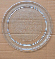 Flat Glass Plate Microwave Oven Accessaries 24 5cm