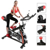 Home Fitness Bike Cardio Exercise Cycling Sports Workout Gym Machine Body Training Bicycle Cardio Indoor Riding Equipment HWC