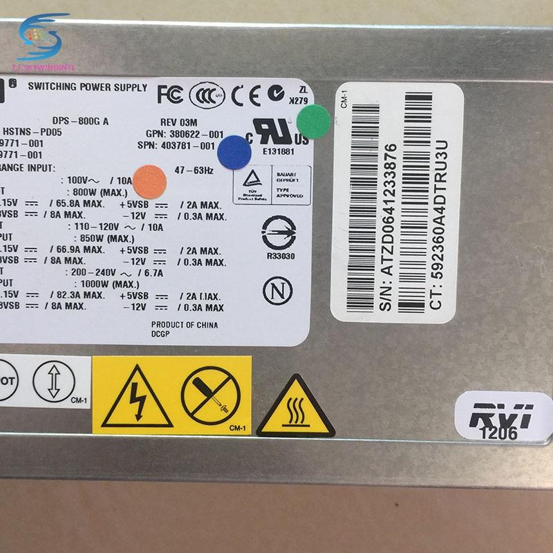 Livraison gratuite DL380G5 alimentation pour DPS-800GB A, 379123-001,403781-001 alimentation pour serveurLivraison gratuite DL380G5 alimentation pour DPS-800GB A, 379123-001,403781-001 alimentation pour serveur