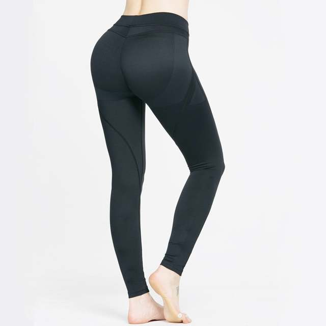 dbd6d9d9f5c0 Online Shop UK Women Running Yoga Workout Slim Fit Sport Pants Ladies  Fitness Leggings Gym Exercise Sports Tight Trousers Wear Pink