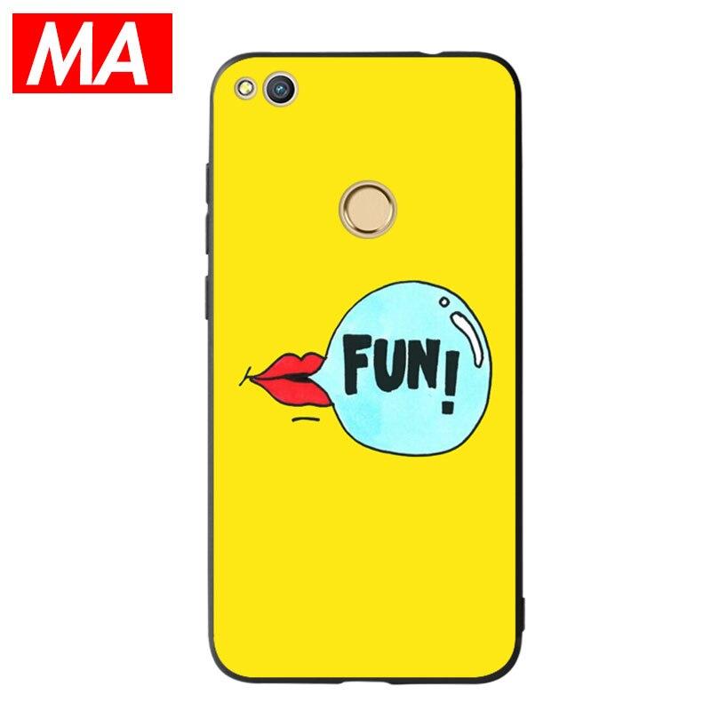 MA The FUN Phone Case For Huawei P8 lite 2017 P9 P10 P20Lite Plus Nova Honor 6C 6A 6X Honor 8 Honor 9 Mate10lite