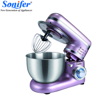 600W Colourful Food Mixers Large size Stainless Steel Whisk Household Cream Mixer Kneading Machine Food Processor Sonifer