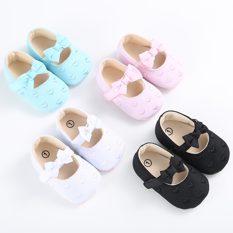 0-1 Years Old Toddler Shoes Multicolor Spring And Autumn Soft Bottom Baby Toddler Shoes