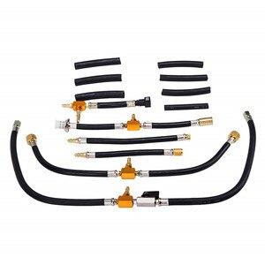 Image 5 - Oto Motor Yakıt Sistemi Yağ Basıncı Test Ölçer Araç Teşhis Analiz Tamir Aracı Kiti 0 140 PSI