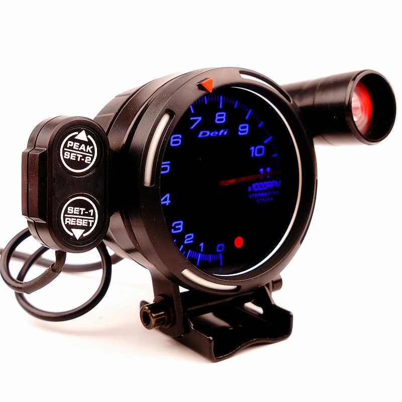 Defi مقياس سرعة الدوران 7 ألوان 0-11000 دورة في الدقيقة التحول ضوء BF نمط السيارات مؤشر مقياس سات متر 72 مللي متر