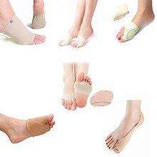 Support Elastic sleeve Metatarsal Forefoot cushion Toe Seperator Bunion Splint Package (Pack of 12)