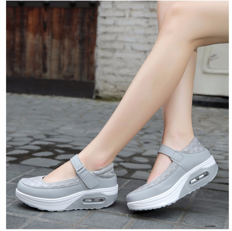 Mary Janes Style Women Casual Shoes Fashion Low Top Platform Shoes zapatillas deportivas mujer Breathable Women Trainers YD129 (28)