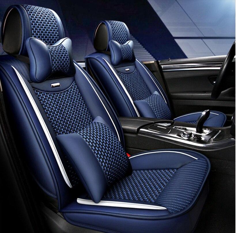Bonne qualité et livraison gratuite! Housses de siège de voiture complètes pour Land Rover Range Rover Evoque 2015-2012 housses de siège de mode durables