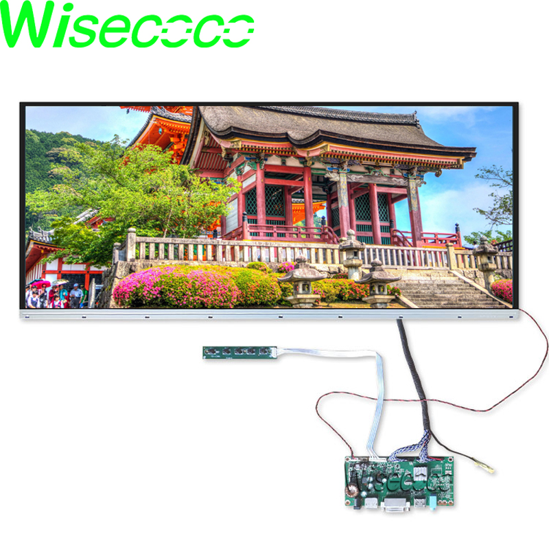 29 Inch 2560*1080 IPS LCD Panel LM290WW1-SSA3 Display Screen Borderless With DP DVI HDMI LVDS Controlelr Board