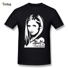 2018 New Arrival Male Buffy the Vampire Slayer T Shirt Custom Cotton Fashionable T-Shirts