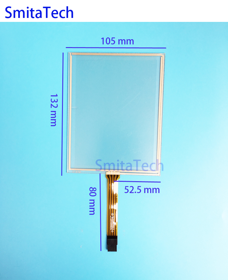 5.7 inch for Siemens TP177A TP177B 6AV6 642-0AA11-0AX1 touch screen touchpad 132*105mm ST-057001 Wide mouth