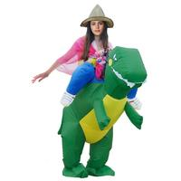 Newest Hot Sell Inflatable Costume Animal Costume Dinosaur Jumpsuit Animal Cosplay Funny Inflatable Dinosaur Costume
