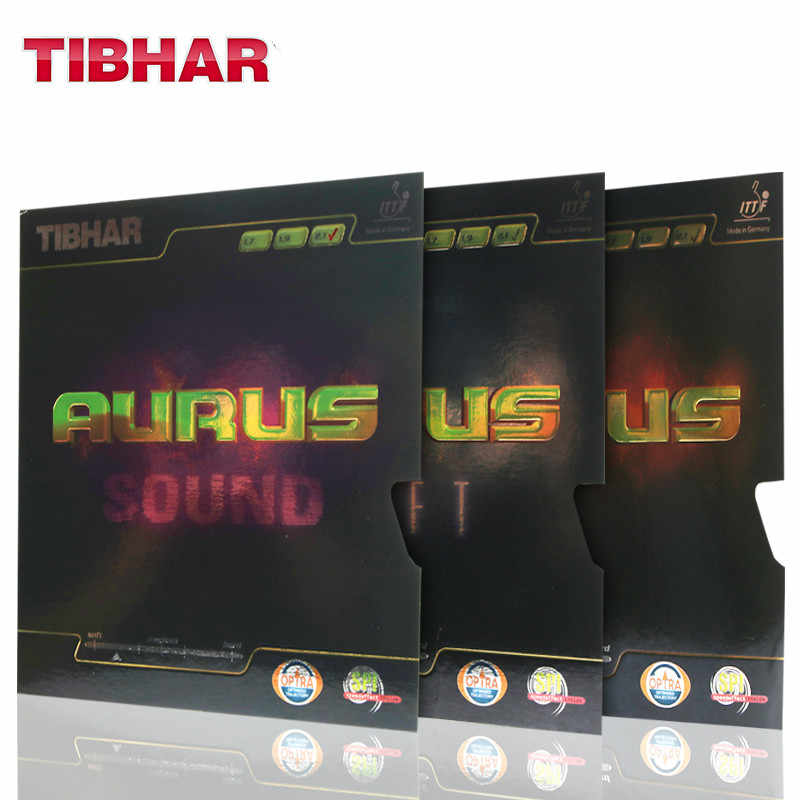 TIBHAR high quality table tennis rubber  AURUS SOUND/AURUS SOFT ping pong racket pimples in rubbers