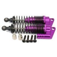 Oil Adjustable 100mm Alloy Aluminum Piggyback Shock Absorber Damper For Rc Car 1 10 Buggy Truck