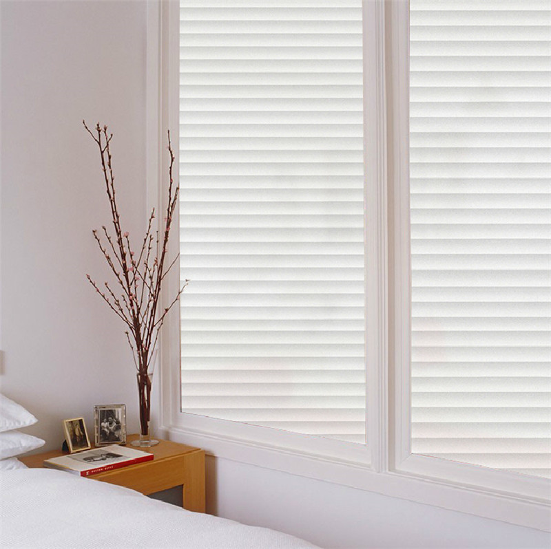 45 200cm Lot Privacy Decorative Window Film Bathroom Sliding Door Glass Sticker Imitation Blinds