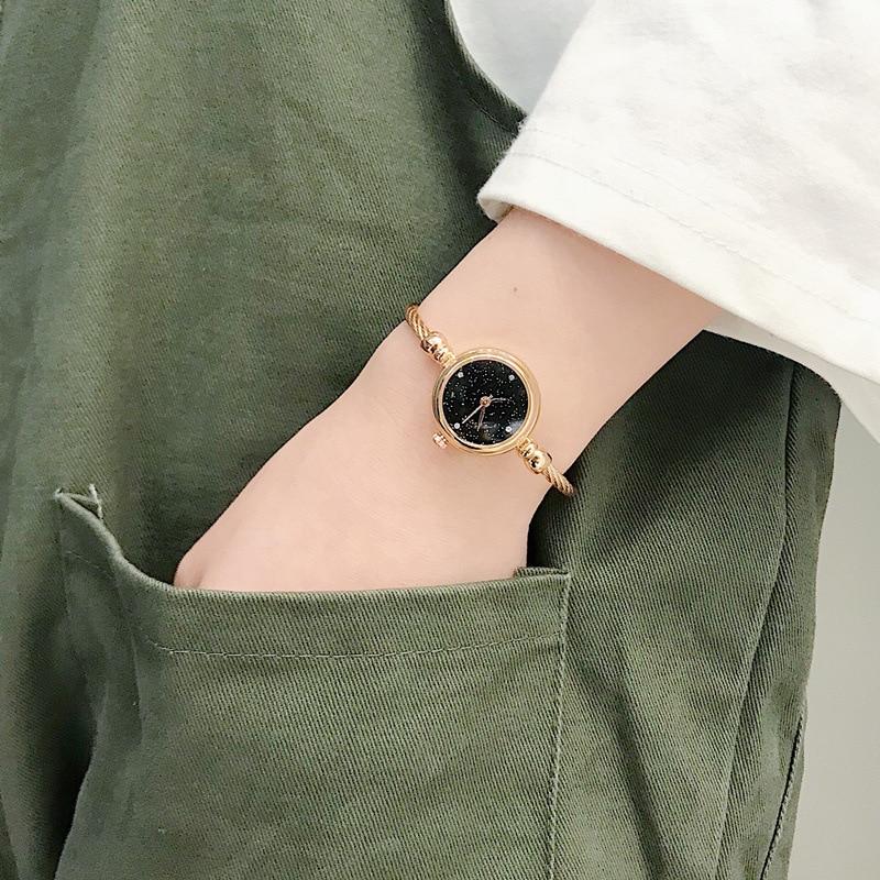 Luxury Starry Sky Bracelet Watches Women Fashion Shine Diamond Elegant Ladies Bangle Wristwatches Female Quartz Montre