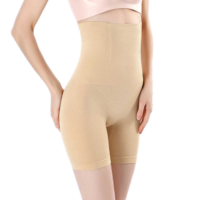 180653ef7d8 ... Seamless Slim Shapewear Tummy Control Panties Women Slimming Waist  Trainer Postpartum High Waist Abdomen Body Shaper ...