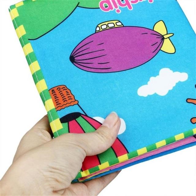 1 99 Doux Nouveau Tissu Bebe Intelligence Developpement Stereo Livre Calme Livre Pour Enfants Libros De Tela Para Bebes Grand Dans De Sur