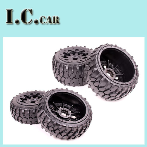 Baja 5B Macadam wheels tires set for 1 5 HPI Baja 5B Parts Rovan KM
