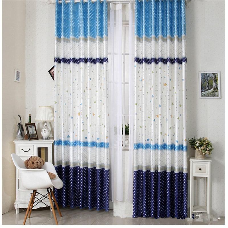 Cartoon Living Room Curtains