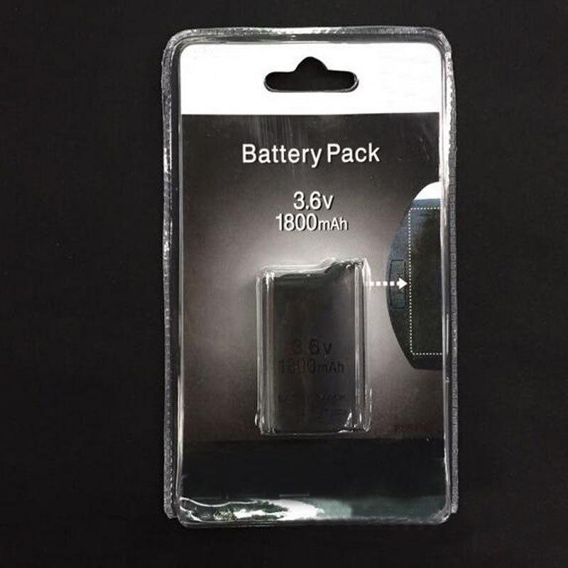 3.6 V 1800 mAh Rechargeable Batterie Power Pack Remplacement pour Sony PlayStation Portable PSP 1000 1008 Jeu Console pour PSP1000