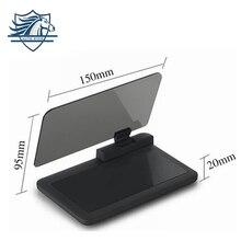 Universal para Teléfonos Móviles GPS Soporte de Navegación HUD Head Up Display Para El Montaje Del Coche Del Sostenedor Del Teléfono Móvil Seguro de Adsorción